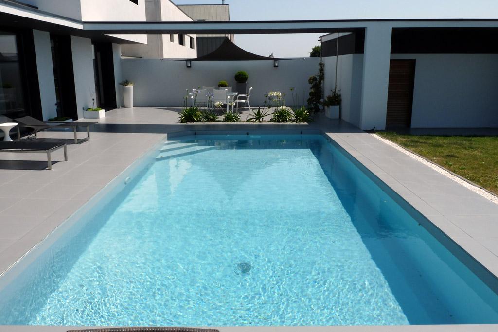 Plages de piscine projet n 1 atelier deniel cr ateur for Projet piscine