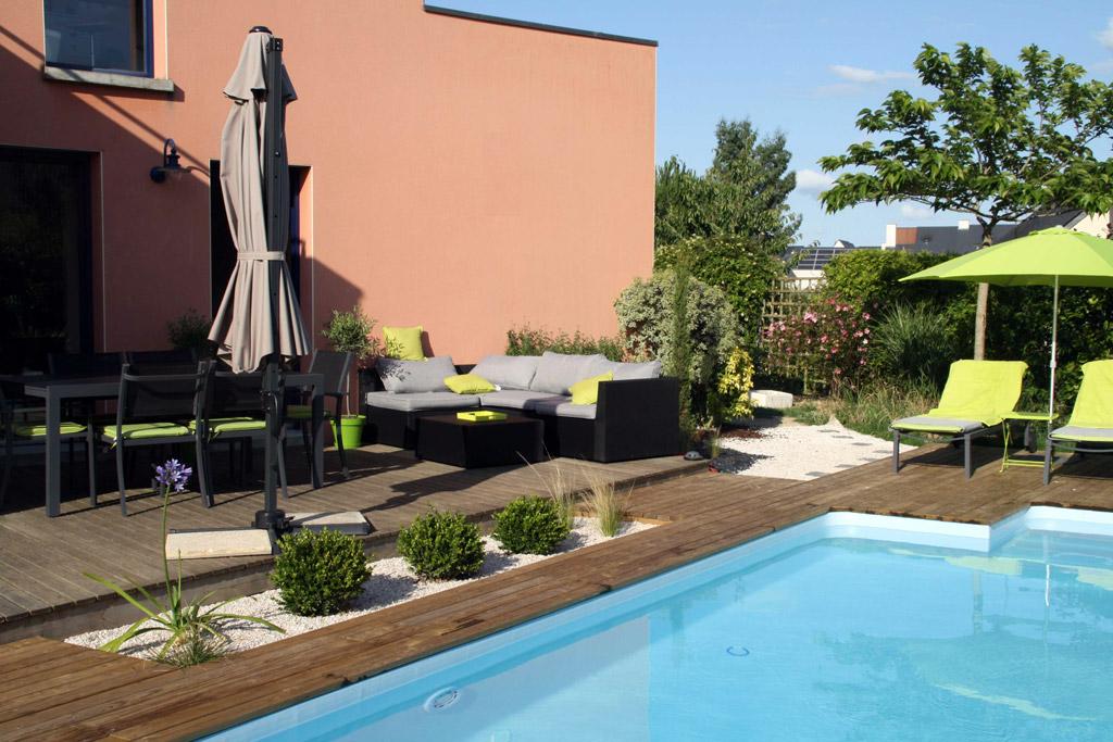 Plages de piscine projet n 3 atelier deniel cr ateur for Projet piscine