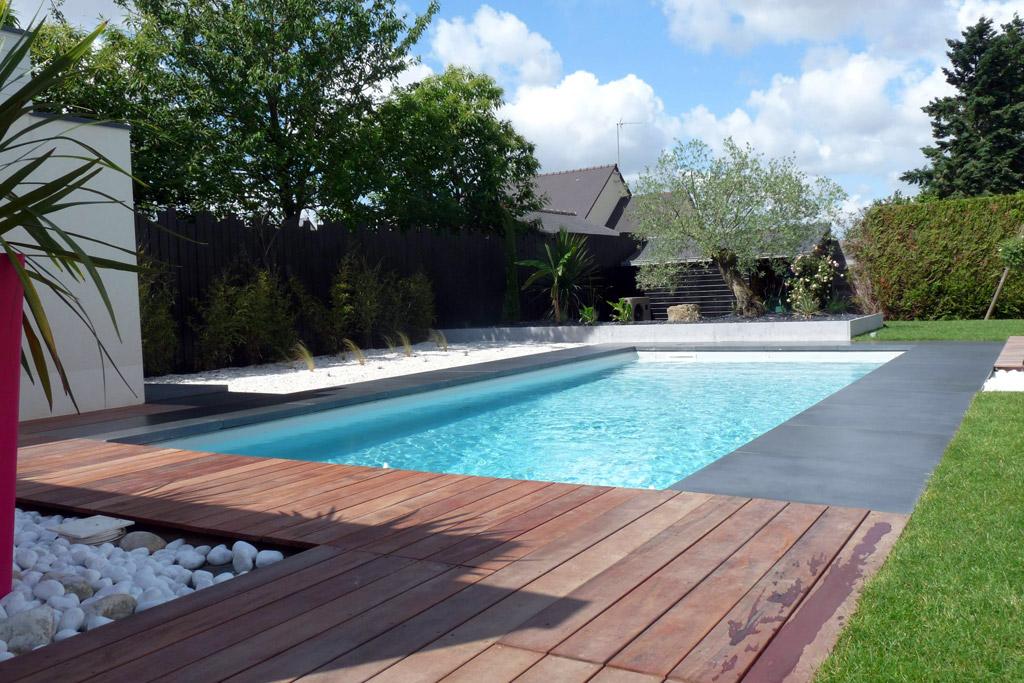Plages de piscine projet n 4 atelier deniel cr ateur for Projet piscine